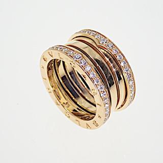 ブルガリ(BVLGARI)のブルガリパヴェダイヤモンドリング54号4バンド(リング(指輪))