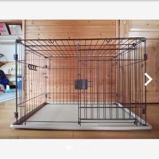 Pet ami  ペットケージ(M)屋根付きスライド式ドア(かご/ケージ)