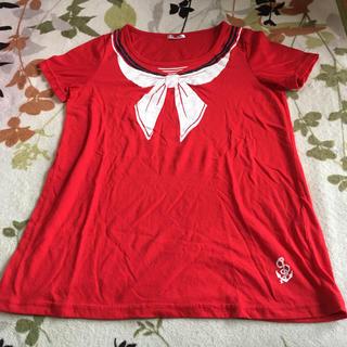 コルザ(COLZA)のHoneys/トロンプルイユセーラーTシャツ(Tシャツ(半袖/袖なし))