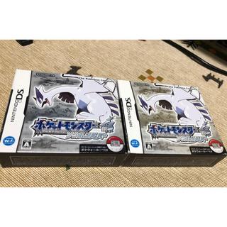 ポケモン(ポケモン)のポケモン ソウルシルバーとポケウォーカー2個(携帯用ゲームソフト)