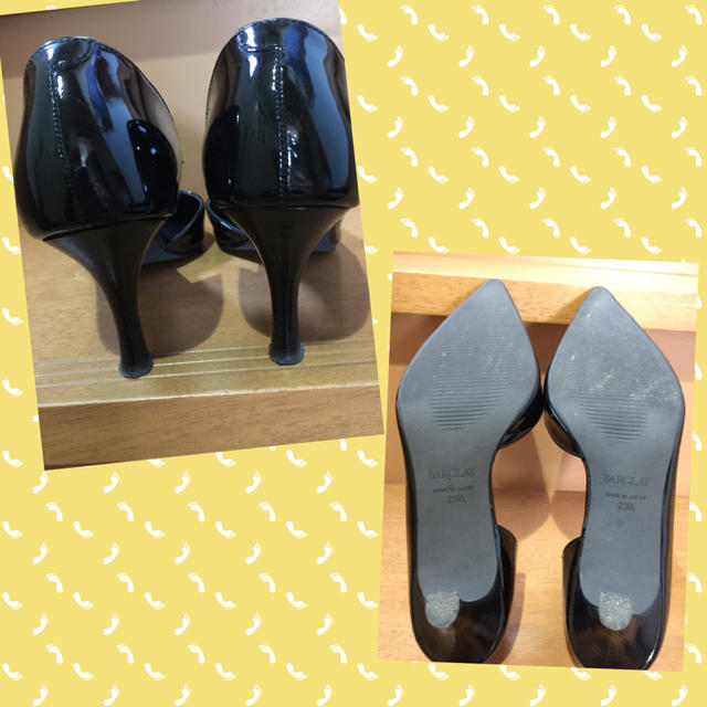BARCLAY(バークレー)の【BARCLAY】エナメルパンプス(ブラック ) レディースの靴/シューズ(ハイヒール/パンプス)の商品写真
