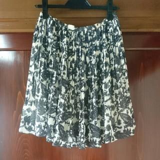 スピックアンドスパンノーブル(Spick and Span Noble)のNoableのスカート(ひざ丈スカート)