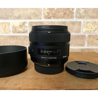 SIGMA(シグマ)30mm f1.4 DC 単焦点レンズ