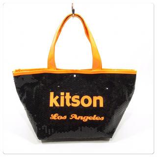 キットソン(KITSON)の美品■kitson キットソン ハンドバッグ トートバッグ 可愛い ほぼ未使用品(トートバッグ)