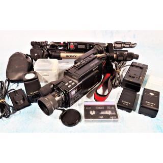ソニー(SONY)のソニー「Video 8 CCD-V88 」付属品多数♪ジャンク(ビデオカメラ)