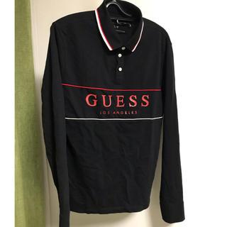 ゲス(GUESS)の【限定価格】GUESS ポロシャツ 長袖(ポロシャツ)