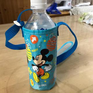 ディズニー(Disney)の水筒 ペットボトル 入れ カバー ミッキー(外出用品)
