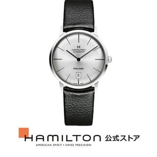 ハミルトン(Hamilton)の送料無料 ハミルトン HAMILTON 公式 腕時計 H38455751(レザーベルト)