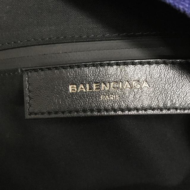 BALENCIAGA BAG(バレンシアガバッグ)の早い者勝ち!バレンシアガ  バックパック リュック ネイビーブルー 美品 メンズのバッグ(バッグパック/リュック)の商品写真