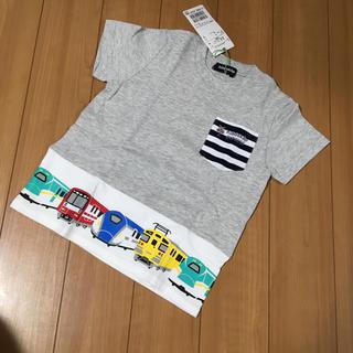新品♡kladskap♡100㎝♡新幹線Tシャツ