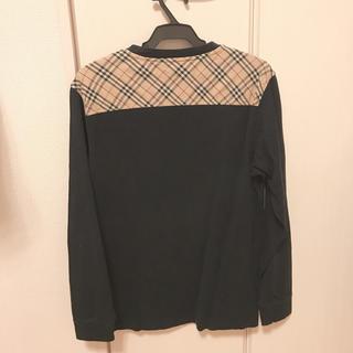 バーバリー(BURBERRY)のバーバリーBurberry◾︎ロンT黒(Tシャツ/カットソー(七分/長袖))