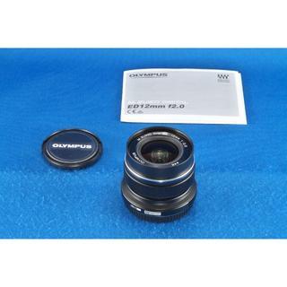 オリンパス(OLYMPUS)のオリンパス M.ZUIKO DIGITAL ED 12mm F2.0(レンズ(単焦点))