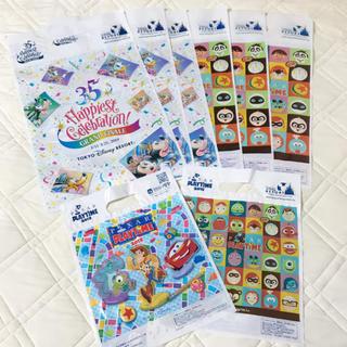 ディズニー(Disney)のディズニー35周年 ピクサー ショッパー 8枚(ショップ袋)