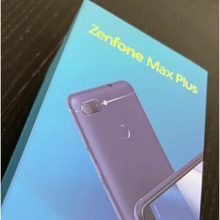エイスース(ASUS)のASUS ZenFone Max Plus M1 ZB570TL Black(スマートフォン本体)