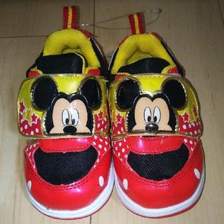 ディズニー(Disney)のミッキー スニーカー 14センチ ディズニーランド ディズニーシー(スニーカー)