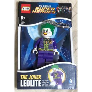 ディーシー(DC)のレゴ LEGO キーホルダー ライト キーチェーン ジョーカー(アメコミ)