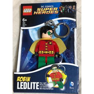 ディーシー(DC)のレゴ LEGO キーホルダー ライト キーチェーン DCコミック ロビン(アメコミ)