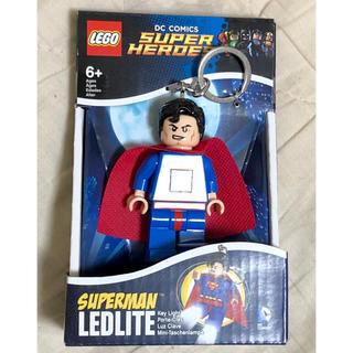 ディーシー(DC)のレゴ LEGO キーホルダー ライト キーチェーン DCコミック スーパーマン(アメコミ)