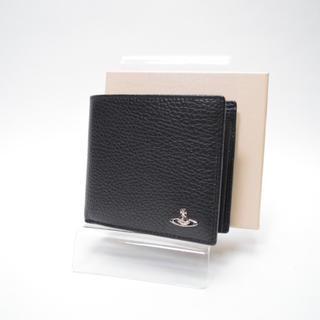 ヴィヴィアンウエストウッド(Vivienne Westwood)の新品/送料無料/ヴィヴィアンウエストウッド/折財布/ブラック/レディース・メンズ(財布)
