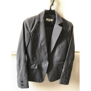 ナチュラルビューティーベーシック(NATURAL BEAUTY BASIC)のMii様専用★LASTCALL  グレーストライプスーツ(スーツ)