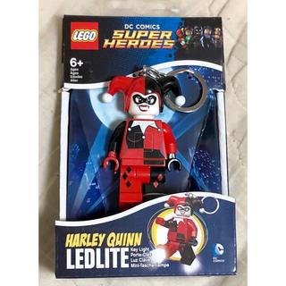 ディーシー(DC)のレゴ LEGO キーホルダー ライト キーチェーン DCコミック ハーレイクイン(アメコミ)