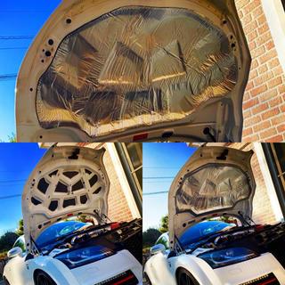 アウディ(AUDI)のAudi TT 8J アウディ 断熱 防音 ノイズカット 2タイプシート セット(車種別パーツ)