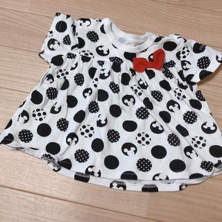 ディズニー(Disney)のミニーマウス / 半袖Tシャツ 70(Tシャツ)