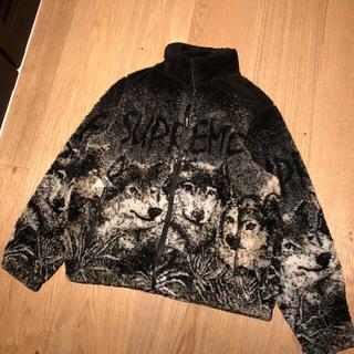 シュプリーム(Supreme)のsupreme 19ss wolf fleece jacket black M(その他)