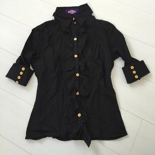 ナバーナ(NAVANA)のナバーナ♡フリルシャツ(シャツ/ブラウス(半袖/袖なし))
