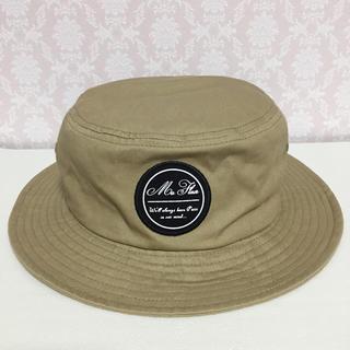 ジーユー(GU)のGU ジーユー ハット 帽子 ベージュ F(ハット)