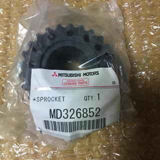 ミツビシ(三菱)の新品 CT9A 4G63 クランクスプロケット MD326852 ランエボ(車種別パーツ)