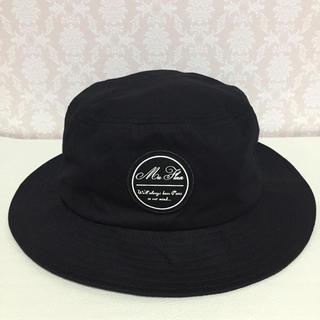 ジーユー(GU)のGU ジーユー ハット 帽子 ブラック F(ハット)