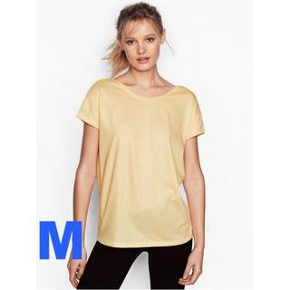 ヴィクトリアズシークレット(Victoria's Secret)のヴィクトリアシークレット Scoopback ティーシャツ Mサイズ(ヨガ)