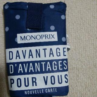 モノプリ MONOPRIX エコバッグ 水玉(エコバッグ)