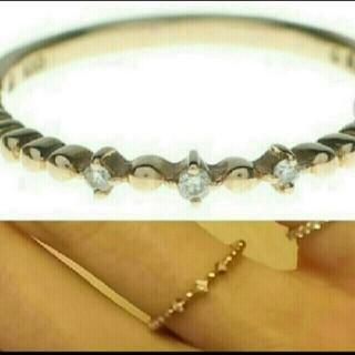 ノジェス(NOJESS)のノジェス ダイヤモンドリング K10 0.02ct 9号 NOJESS 10金(リング(指輪))