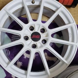 スバル(スバル)のインプレッサsti RA-R 専用ホイール18インチ4本セット(タイヤ・ホイールセット)
