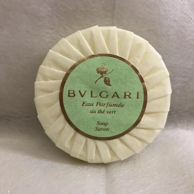 BVLGARI(ブルガリ)の今だけ価格BVLGARI石けん! エンタメ/ホビーのコスプレ(アメニティ)の商品写真