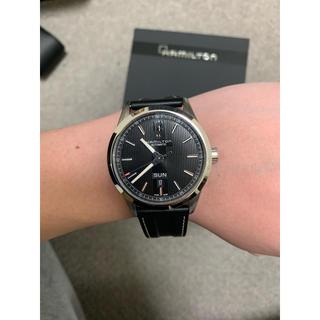 ハミルトン(Hamilton)のHAMILTON ブロードウェイ 美品 保証書 箱 (腕時計(アナログ))