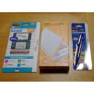 ニンテンドー2DS(ニンテンドー2DS)のnew NINTENDO 2DS  LL セット(携帯用ゲーム本体)