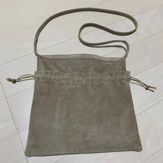 エンダースキーマ(Hender Scheme)のHender Scheme red cross bag small 巾着袋(ショルダーバッグ)