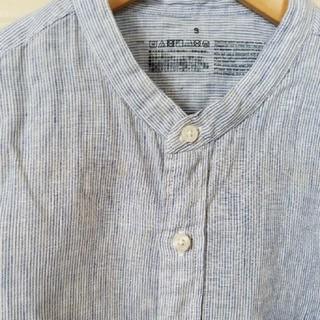 ムジルシリョウヒン(MUJI (無印良品))の無印良品 MUJI リネン ストライプ シャツ(シャツ/ブラウス(長袖/七分))