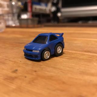 ニッサン(日産)のニッサン スカイライン GT-R R33 ミニカー  あお(ミニカー)