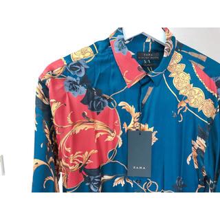 ザラ(ZARA)のZARA プリントシャツ(シャツ)