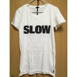 ルグランブルー(LGB)の【LGB】Tシャツ SLOW (Tシャツ/カットソー(半袖/袖なし))