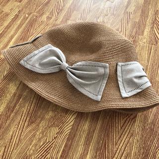 バーニーズニューヨーク(BARNEYS NEW YORK)の【新品タグ付き】アシーナニューヨーク ガール ハット(帽子)