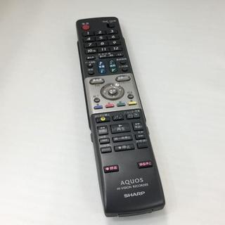 シャープ(SHARP)の【新品】SHARP AQUOS GA652PA 純正リモコン テレビDVD用 1(DVDレコーダー)