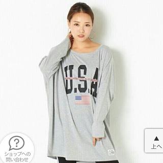 ゴージ(GORGE)のGORGE ゴージ 完売品 USAビッグTシャツ (カットソー(長袖/七分))