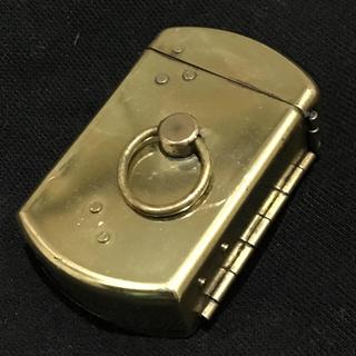 ジッポー(ZIPPO)の珍品 スピットファイア 始祖オイルライター 火薬式(タバコグッズ)