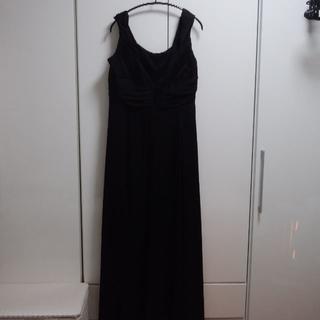 アルマーニ コレツィオーニ(ARMANI COLLEZIONI)の大きいサイズ アルマーニコレツィオーニ 黒ロングドレス 未使用品(ロングドレス)