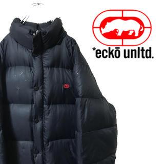 エコーアンリミテッド(ECKŌ UNLTD(ECKO UNLTD))のECKO エコーアンリミテッド 中綿 ダウンジャケット 胸ロゴ 厚手(ダウンジャケット)